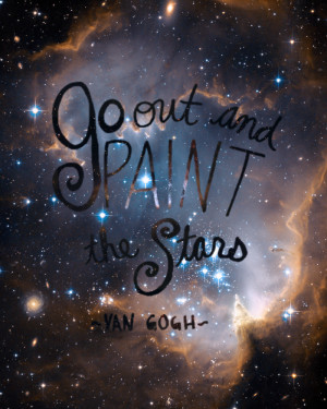 ... Stars - Van Gogh. Click through th download. #quotes #printables #