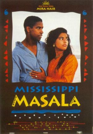 mississippi masala Demetrius is a stalwart, self-made man and owner of a carpet-cleaning business  a chance traffic accident introduces him to mina, a beautiful young indian.