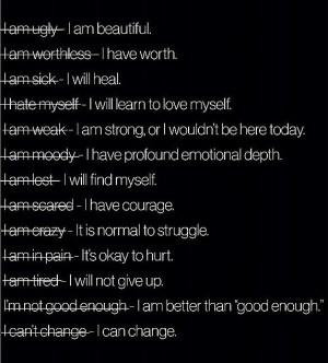 Negative into a positive