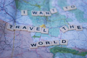 people would like to achieve before they die is to travel the world ...