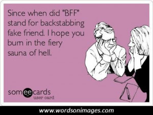 quotes about backstabbing friends