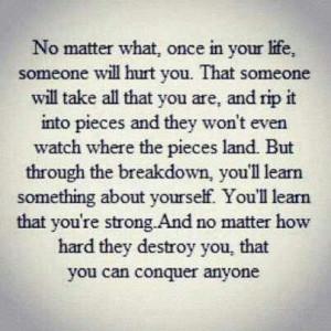 Words of strength & endurance