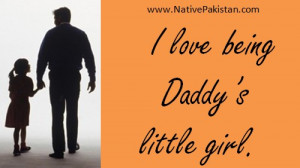 ... Day Quotes - I love being Daddy's little girl - Dad Quotes & Sayings