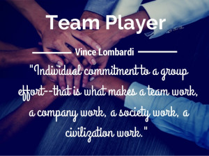 Be a Better Team Player