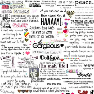 Quotes Collage by Aley-Hand-Rough