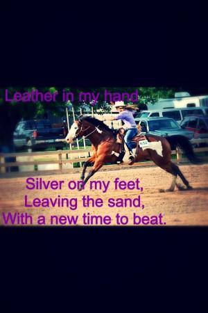 Barrel racing quote #barrelracing #cowgirls