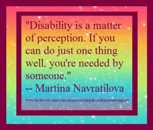 Quotes About Intellectual Disability
