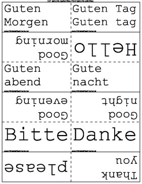 phrases flash cards these flashcards cover many basic german phrases ...