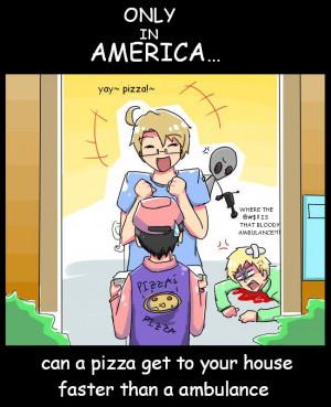 Hetalia Only in America