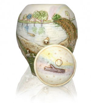 Home Rainbow Bridge Pet Urn