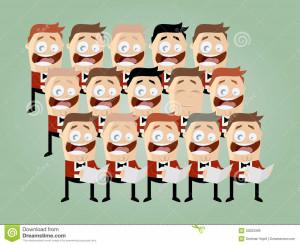 Funny Choir Pictures Funny cartoon choir royalty