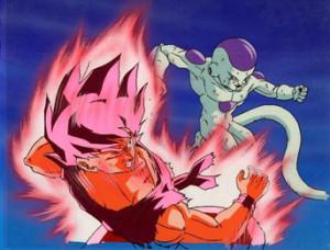 Frieza Goku Cloud