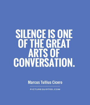 Silence Best Conversation Quote