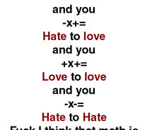 Hate Maths Tumblr Picture