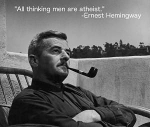 Ernest Hemingway. ( i.imgur.com )