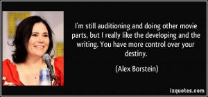 More Alex Borstein Quotes