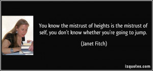 More Janet Fitch Quotes