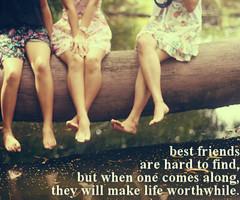 Girl Best Friends Quotes Best friend qu... 3 girl