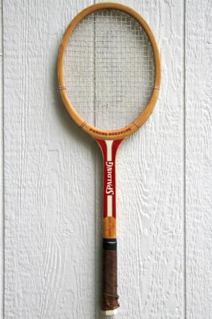 Vintage Spalding Pancho Gonzales Tennis Racket/Racquet
