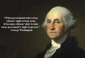 Washington Quotes On Guns