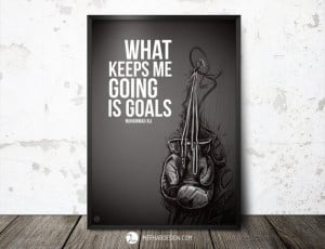 ... Inspirational by MerhabDesign, $6.00 #quotes #boxing #muhammad #ali #