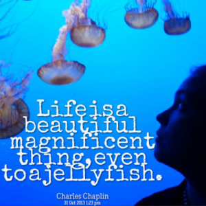 Quotes About: jellyfish