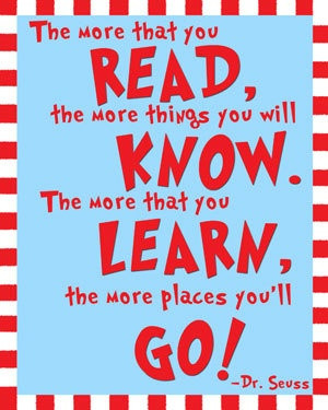 Must Reading, Quote Prints, Dr. Seuss Reading Quotes, 25 Book, Reading ...