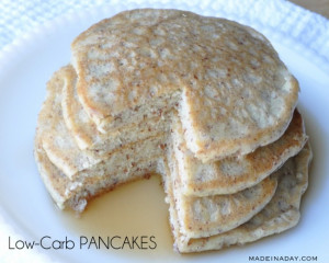 Low Carb Pancakes with Almond Meal Flour
