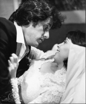 Still of Sylvester Stallone and Talia Shire in Rocky II (1979)