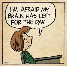 ... Snoopy quotes that describe my current predicament quite accurately