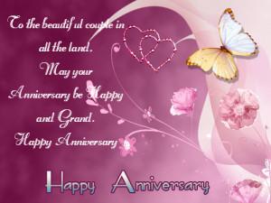 Beautiful Couple Happy Anniversary Quotes