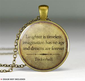 Peter Pan Quote Pendant...