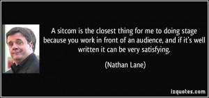 More Nathan Lane Quotes
