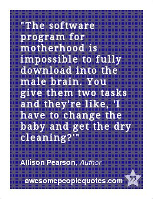 ... the dry cleaning?' – Allison Pearson, Author #quote #quotes #funny