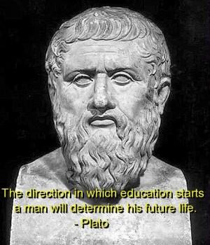Plato, quotes, sayings, education, start, life, future