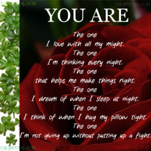 You are love poem
