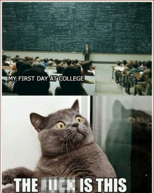 My First Day At College