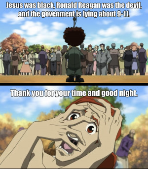 Top Boondocks Quotes #1 (Season 1, Episode 1). Season 4 of The ...