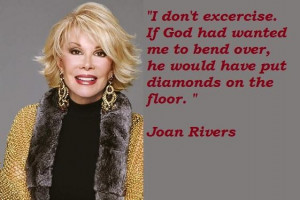 Joan rivers quotes 5