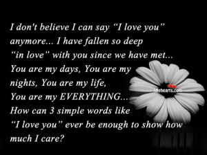 Believe, Care, I Love You, Life, Like, Love, Love You, Simple