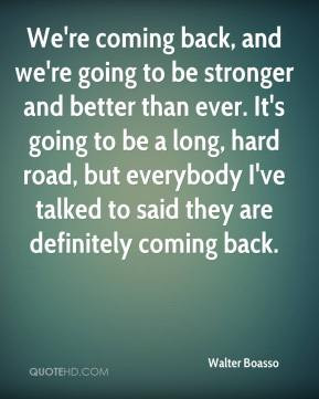 Coming Back Quotes