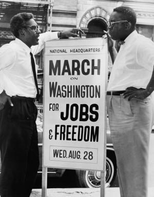 Bayard Rustin and the 1963 March on Washington