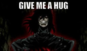 made a bunch of random Hellsing Abridged picture quotes x3