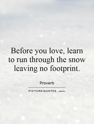 Snow Quotes Proverb Quotes