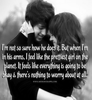 ... going to be okay and there's nothing to worry about at all. ~Love