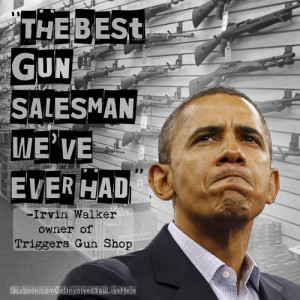 The best gun salesman we've ever had