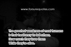 Quotes about weakness of most humans