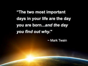 mark twain quotes, inspirational quotes, life, meaning, purpose ...