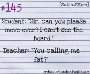 Funny Quotes About Teachers and Students