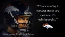 Peyton Manning quote - Sports and Awesome Sports Quotes